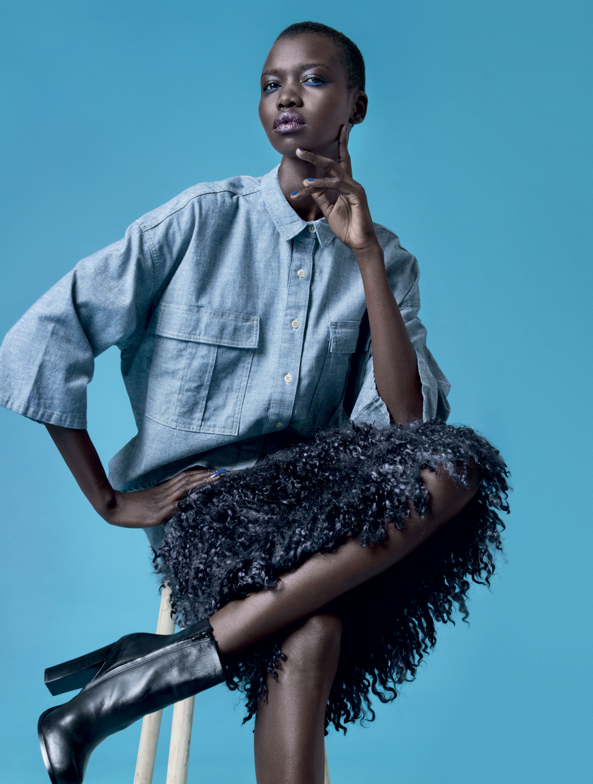 South african fashion model 60